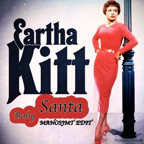 Album Cover: Earha Kitt Santa Baby
