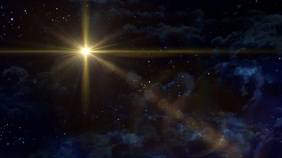 48799861 - a bethlehem illuminated by the christmas star of christ